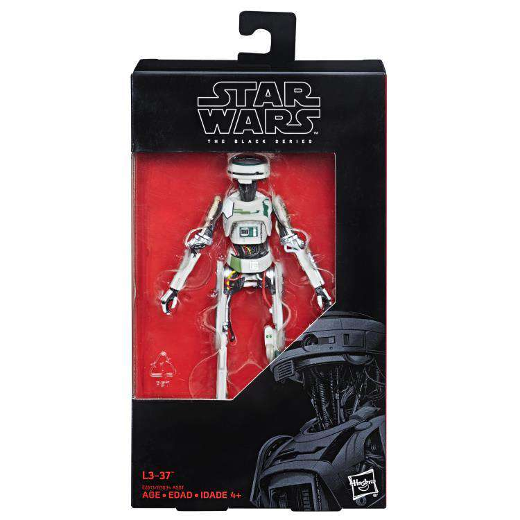 "Star Wars: The Black Series 6"" L3-37 (Solo: A Star Wars Story) - Wave 19"