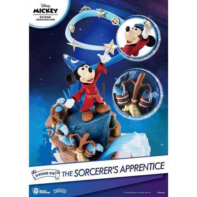 Disney D-Select DS-018 The Sorcerer's Apprentice PX Previews Exclusive Statue - MAY 2019