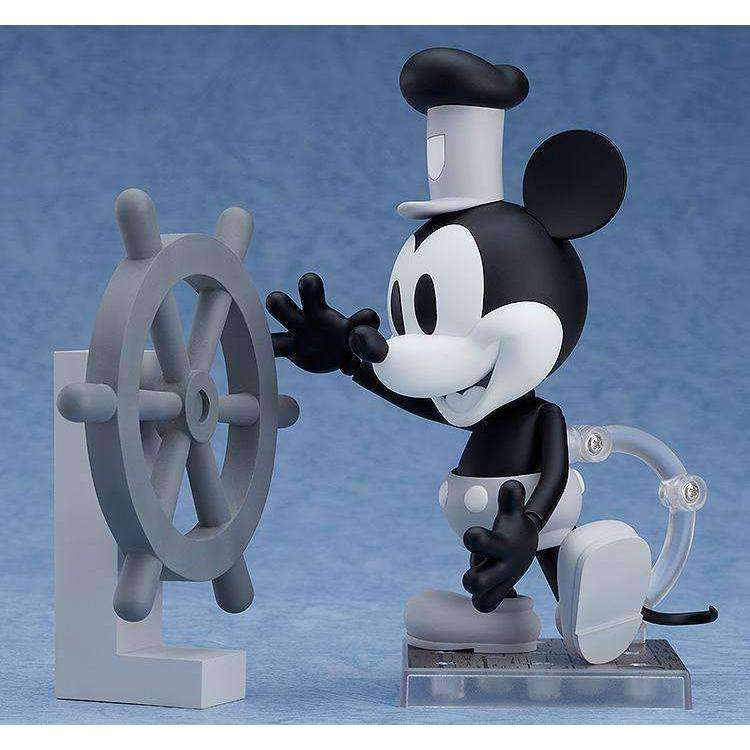 Steamboat Willie Nendoroid No.1010a 1928 Mickey Mouse (Black & White) - JUNE 2019