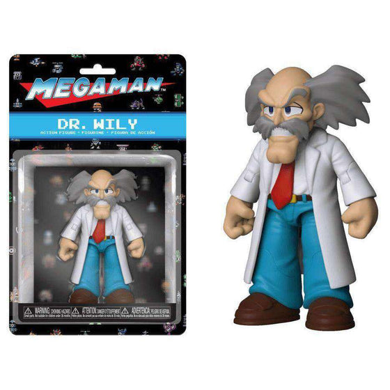 Mega Man Dr. Wily Action Figure - DECEMBER 2018