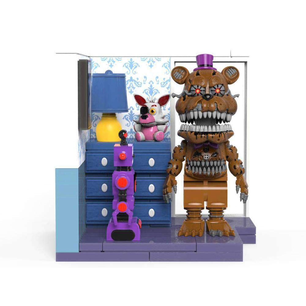 Five Nights at Freddy's The Office Desk & Right Dresser With Door Small Construction Sets - JULY 2019