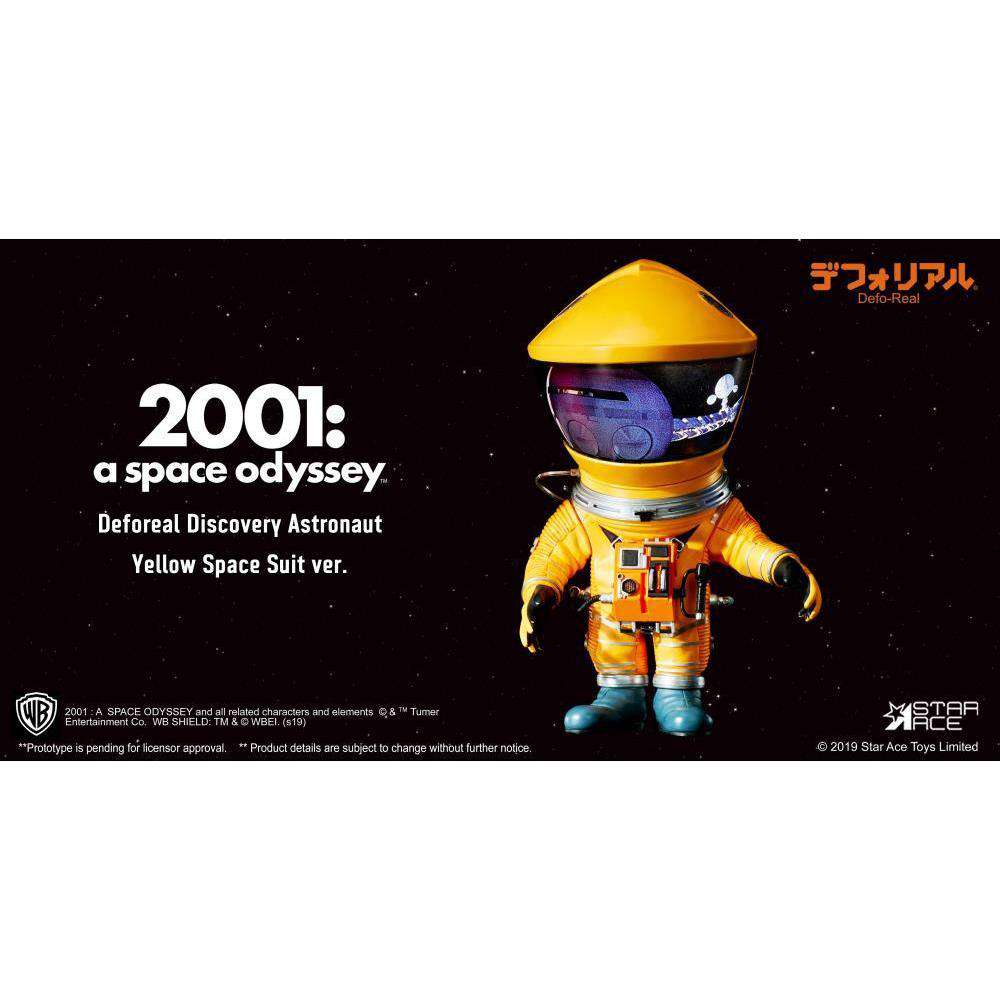 2001: A Space Odyssey Deform Real Discovery Astronaut (Yellow) - Q3 2019