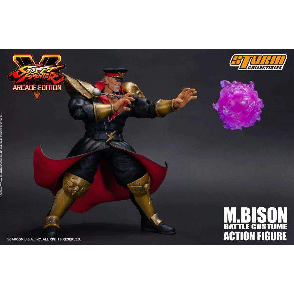 Street Fighter V M. Bison (Arcade Edition) 1/12 Scale Figure