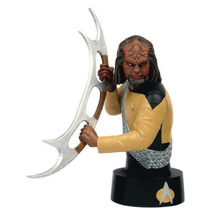 Star Trek Bust Collection #3 Worf - MAY 2019