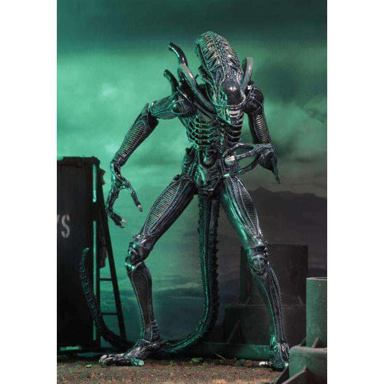 Aliens Ultimate Warrior (Blue) Figure