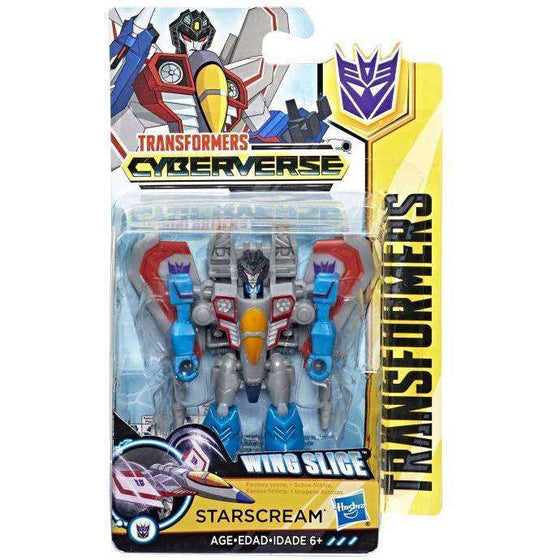 Transformers Cyberverse Scout Wave 1 - Starscream - AUGUST 2018
