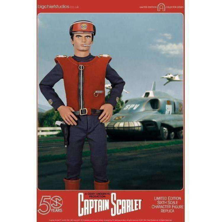 Captain Scarlet and the Mysterons Captain Scarlet 1/6 Scale Collector Figure - Q3 2019