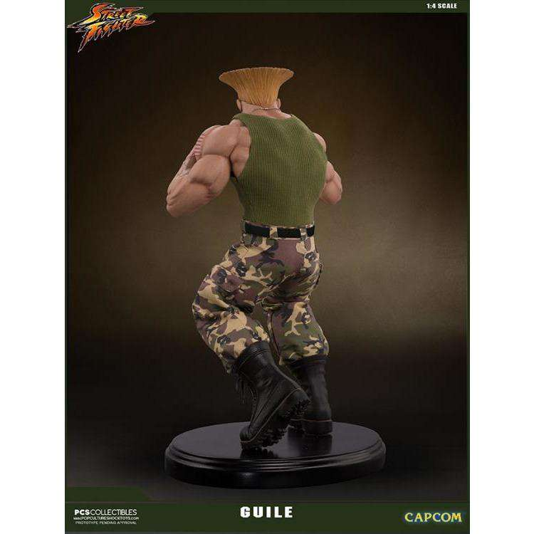 Street Fighter Guile 1/4 Mixed Media Statue - Q4 2019