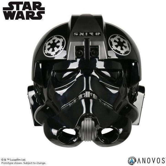 Star Wars Imperial TIE Fighter Pilot (Lt. Oxixo Variant) 1:1 Scale Wearable Helmet