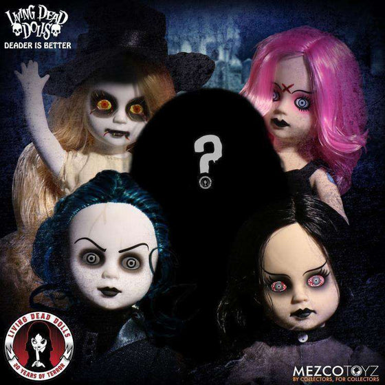 Living Dead Dolls 20th Anniversary Series Deader is Better Set of 5 - AUGUST 2018