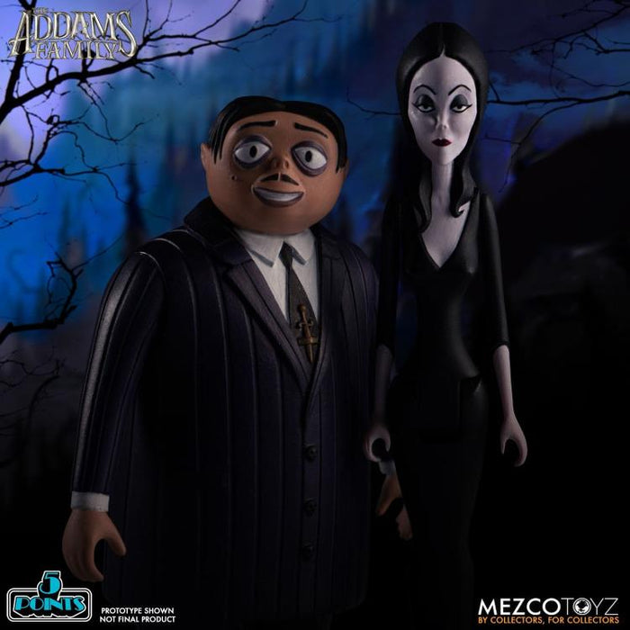 The Addams Family 5 Points Action Figure Case of 6 - APRIL 2020