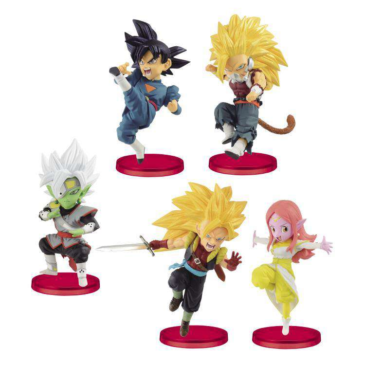Super Dragon Ball Heroes World Collectable Figure Vol. 7 Set of 5 Figures - AUGUST 2019