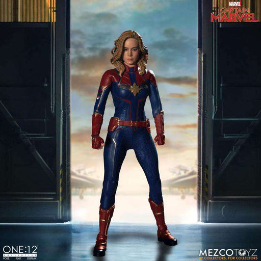One:12 Collective Captain Marvel (DAMAGED BOX)