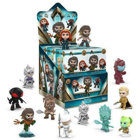 Aquaman Mystery Minis Box of 12 Figures - NOVEMBER 2018