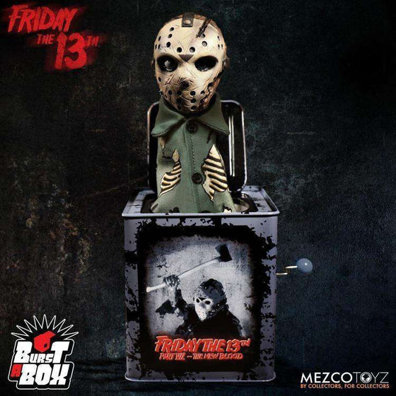 Friday the 13th Part VII Burst-A-Box Jason Voorhees - NOVEMBER 2018