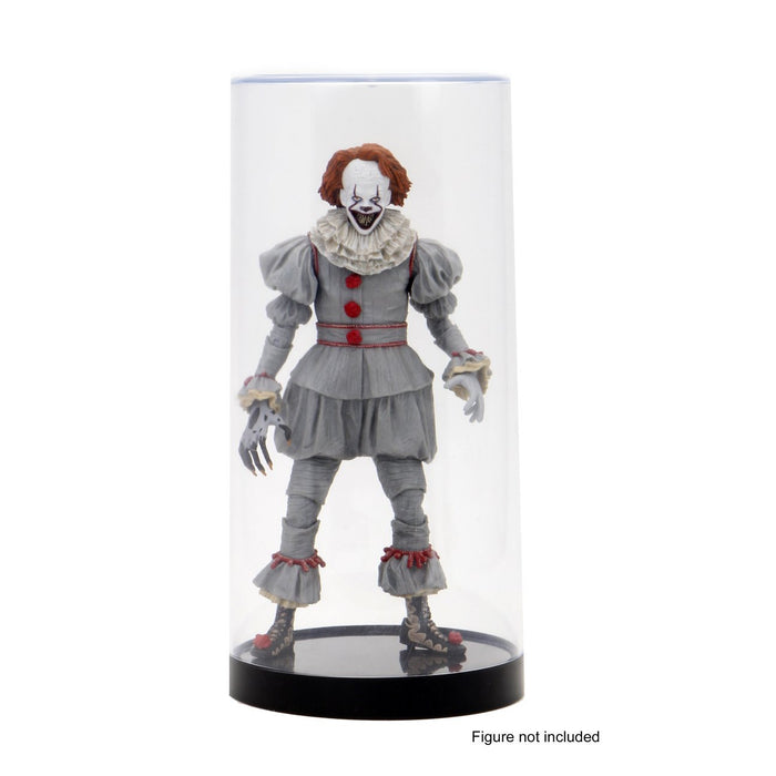 "8"" Action Figure Cylindrical Display Case"