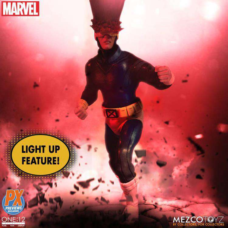 Marvel One:12 Collective Cyclops PX Previews Exclusive - NOVEMBER 2019