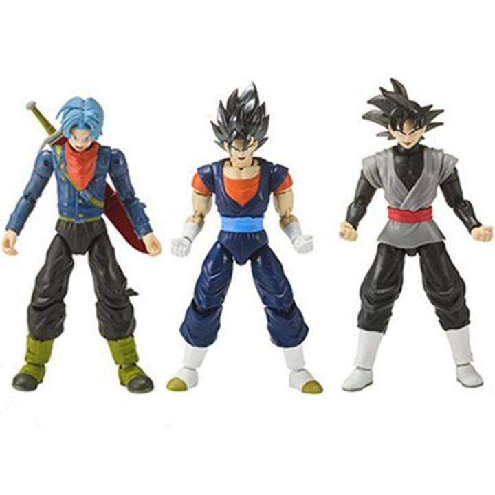 Dragon Ball Super Dragon Stars Wave 8 - Set of 3 - with Broly Components - FEBRUARY 2019