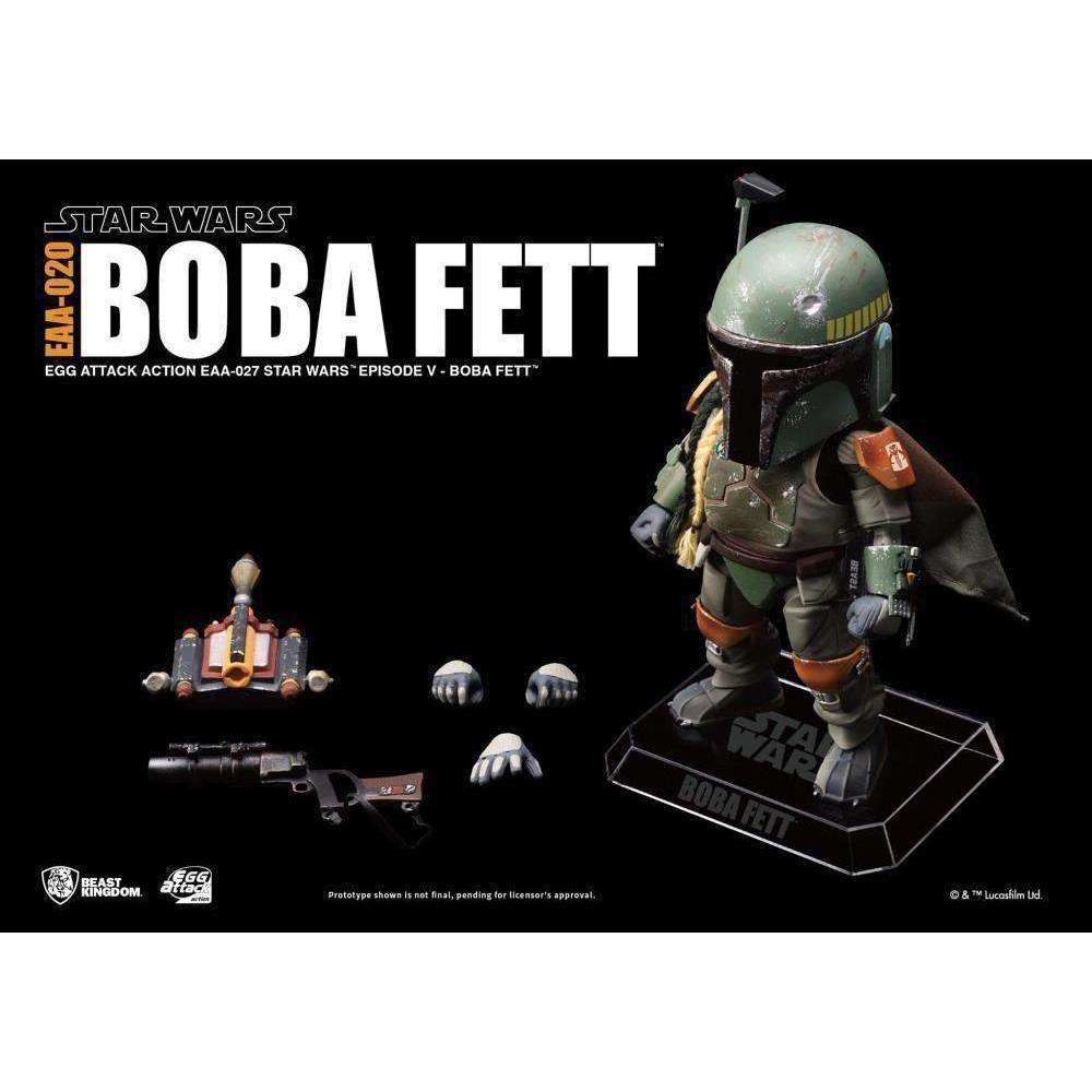 Star Wars Egg Attack Action EAA-020 Boba Fett (Empire Strikes Back) PX Previews Exclusive