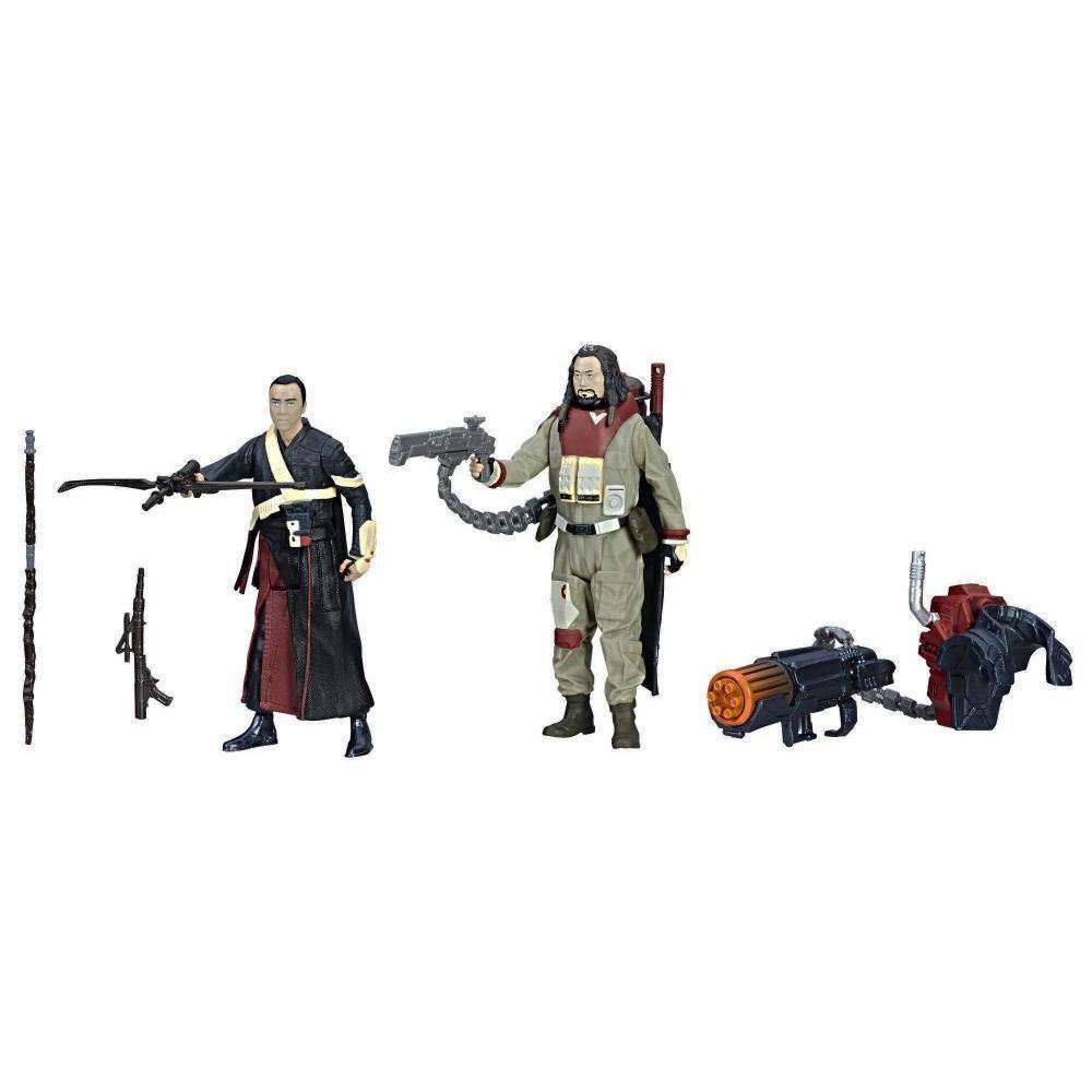 "Star Wars 3.75"" Force Link Chirrut Imwe & Baze Malbus Two-Pack"