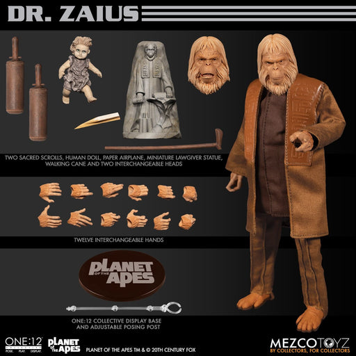 One:12 Collective Planet of the Apes (1968): Dr. Zaius - DECEMBER 2020