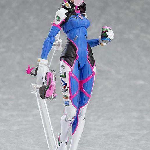 Overwatch figma No.408 D.Va (Classic Skin Edition) - AUGUST 2019