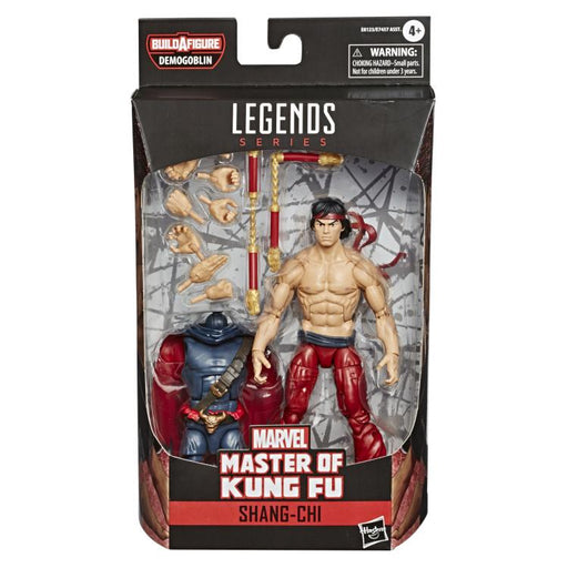 Spider-Man Marvel Legends 6-Inch Action Figures Wave 1 (BAF Demogoblin) - Shang Chi