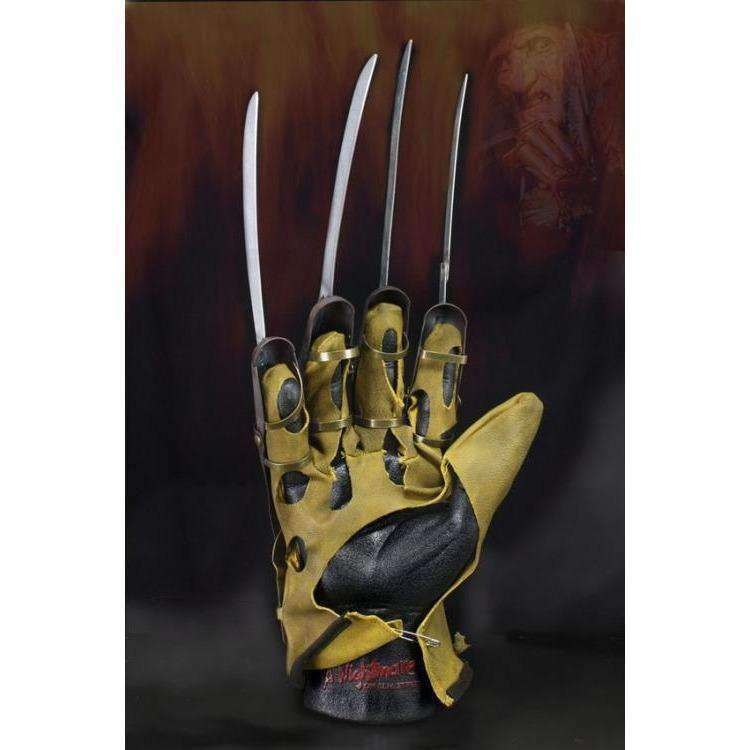 A Nightmare on Elm Street Freddy Glove Prop Replica - AUGUST 2018