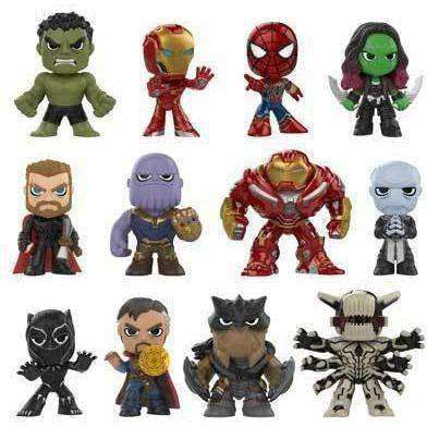 Avengers: Infinity War Mystery Minis Box of 12 Figures - December 2018