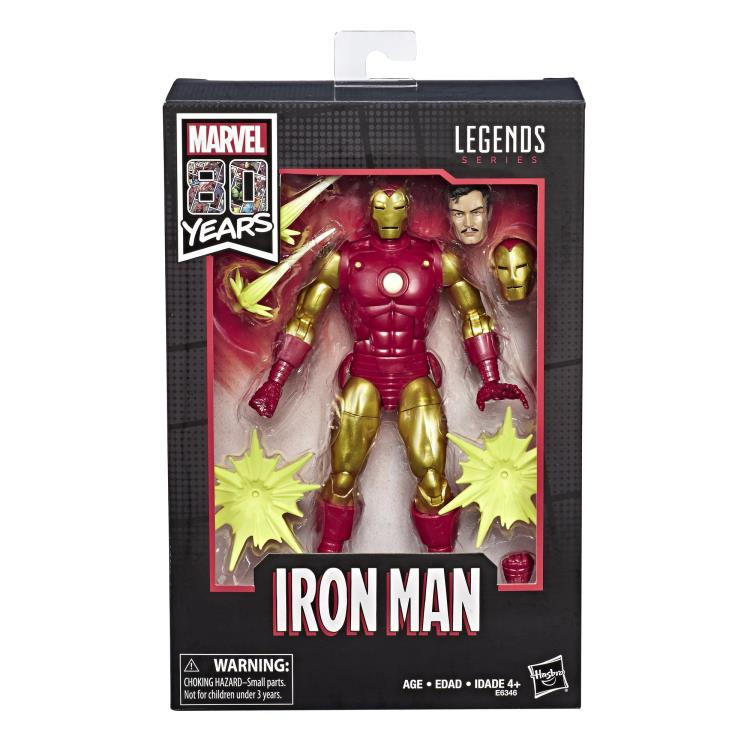 "Marvel Legends 80th Anniversary Iron Man 6"" Figure"