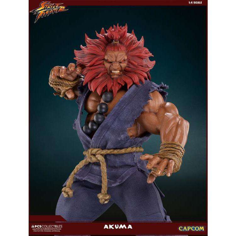 Street Fighter Akuma (10th Anniversary) 1/4 Scale Mixed Media Statue - Q2 2019