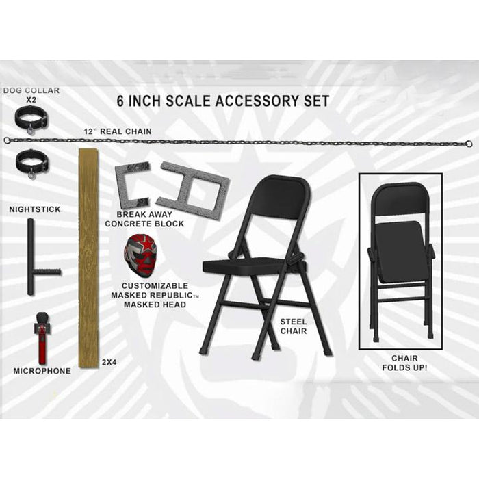 Legends Of Lucha Libre - Premium Accessory Set - Lucha Extrema - JULY 2020