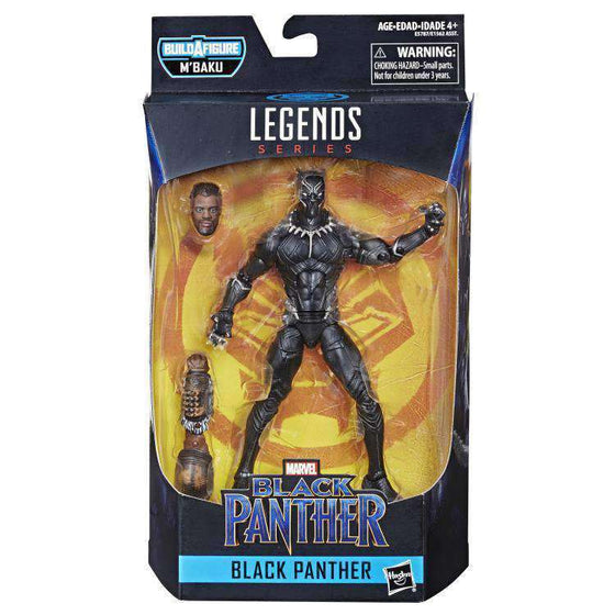 Black Panther Marvel Legends Wave 2 (M'Baku BAF) - Unmasked Black Panther