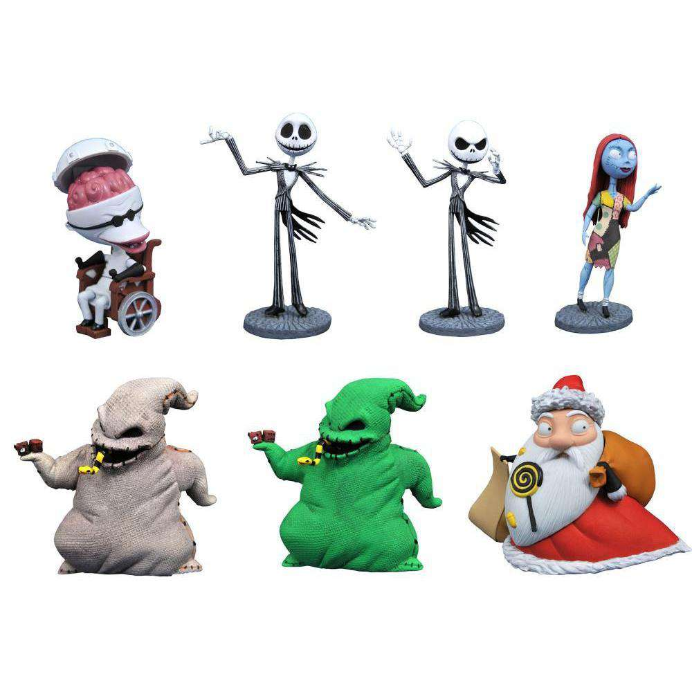 The Nightmare Before Christmas D-Formz Box of 12 Figures - SEPTEMBER 2019