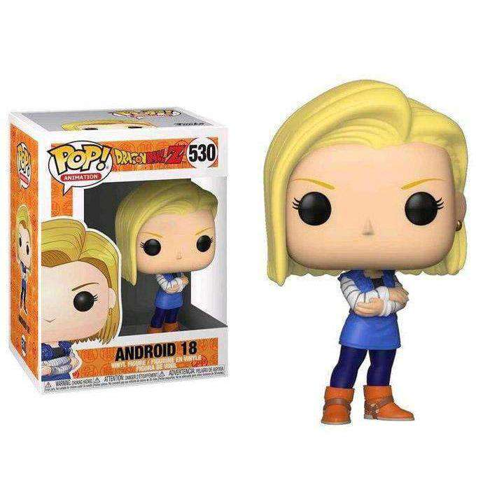 Pop! Animation: Dragon Ball Z Android 18 - FEBRUARY 2019