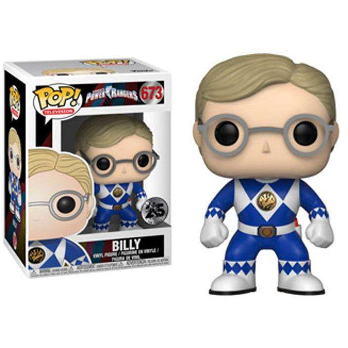Pop! TV: Mighty Morphin Power Rangers - Billy - AUGUST 2018