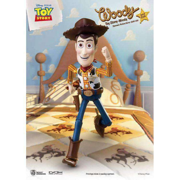 Toy Story Dynamic 8ction Heroes DAH-016 Woody PX Previews Exclusive - AUGUST 2019