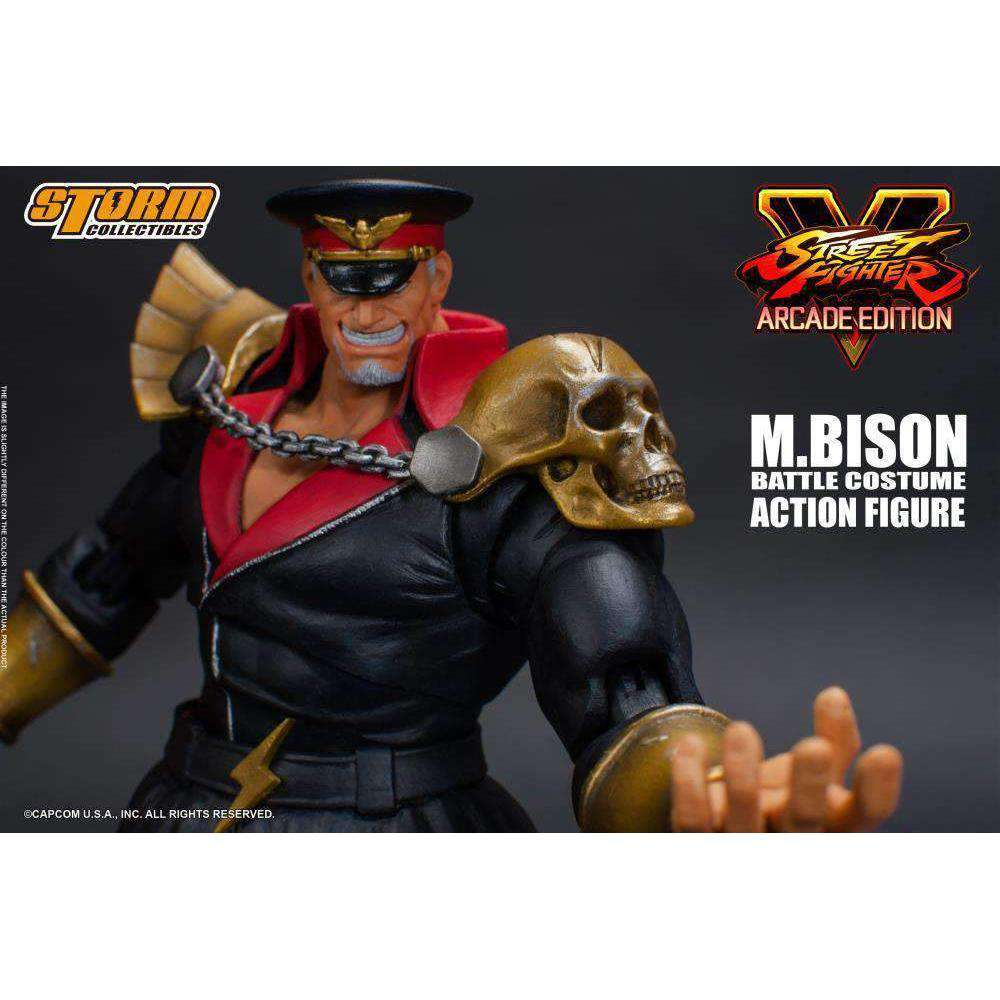 Street Fighter V M. Bison (Arcade Edition) 1/12 Scale Figure - MAY 2019