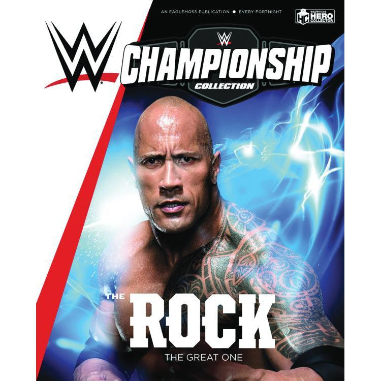 WWE Figurine Championship Collection #3 The Rock - NOVEMBER 2019