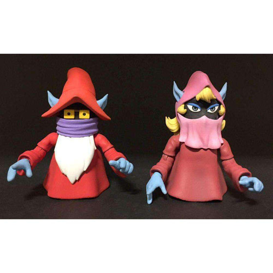 Masters of the Universe Club Grayskull Uncle Montork & Dree Elle Two-Pack Power-Con 2018 Exclusive