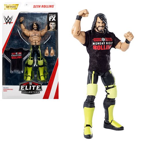 WWE Wrestling Top Picks Elite Wave 2 - Seth Rollins Action Figure