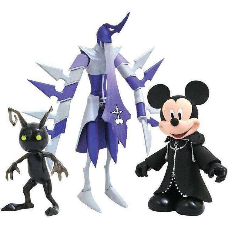 Kingdom Hearts Select Wave 3 Set of 3 Three-Packs - APRIL 2019