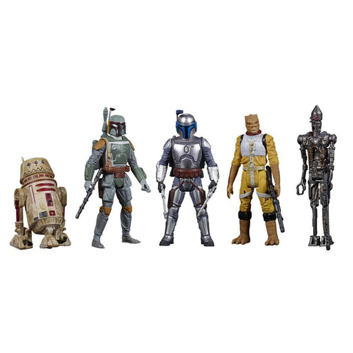 Star Wars Celebrate the Saga Bounty Hunters 3 3/4-Inch Action Figure Set - OCTOBER 2020