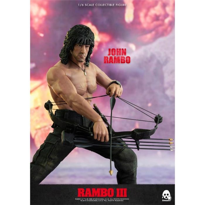 Rambo III John Rambo 1:6 Scale Action Figure - JULY 2020