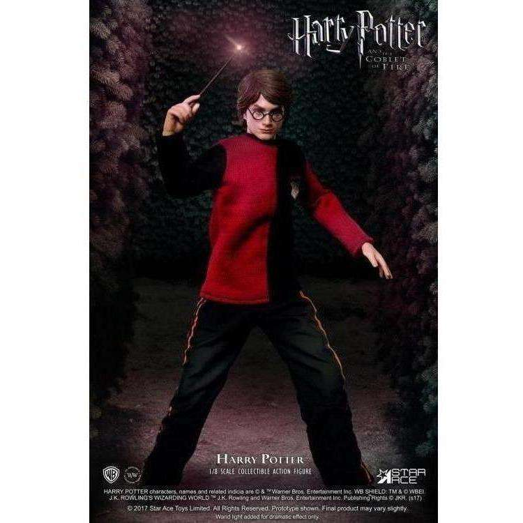 Harry Potter Real Master Series Harry Potter 1/8 Scale Figure (Last Game Ver. with Light Up Wand)
