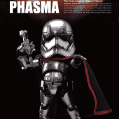 Star Wars: The Force Awakens - Egg Attack Action EAA-016 Captain Phasma