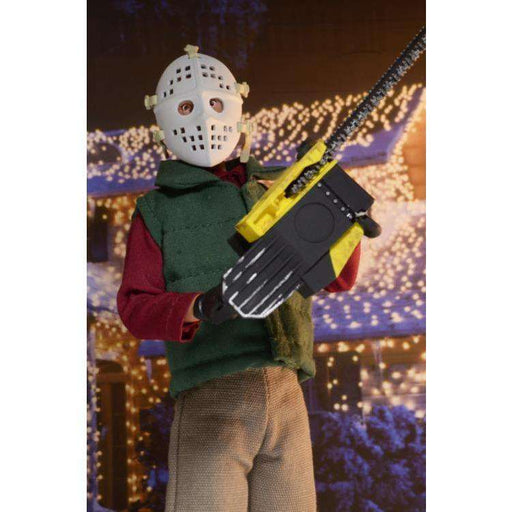 "National Lampoon's Christmas Vacation 8"" Clothed Figure - Chainsaw Clark"