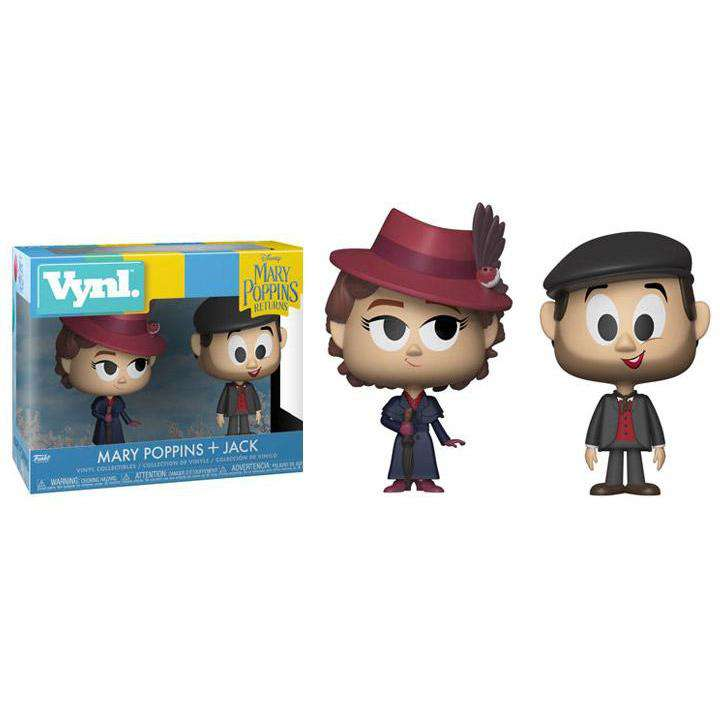 Mary Poppins Returns Vynl. Mary Poppins + Jack (With Bonus) - NOVEMBER 2018