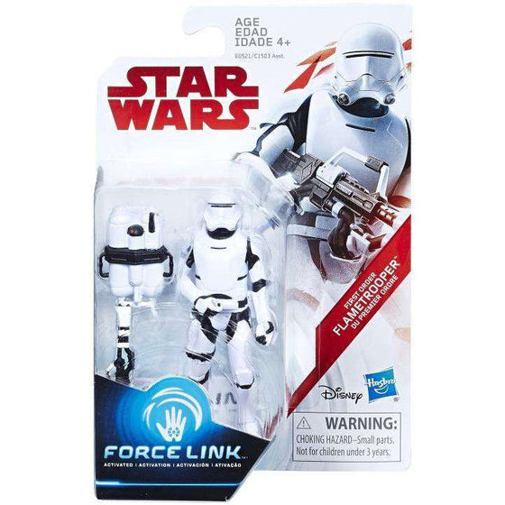 "Star Wars 3.75"" Force Link Flametrooper (The Last Jedi) Exclusive"