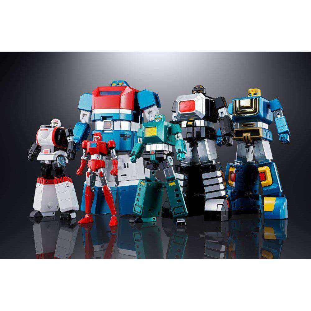 Six God Combination God Mars Soul of Chogokin GX-40R Box Set - AUGUST 2019